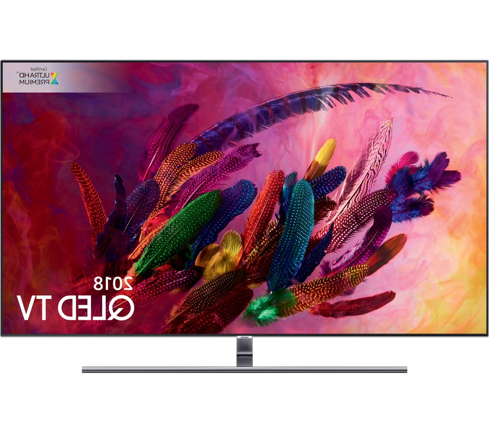 """Buy Samsung Qe65q7fnatxxu 65"""" Smart 4k Ultra Hd Hdr Qled Tv 