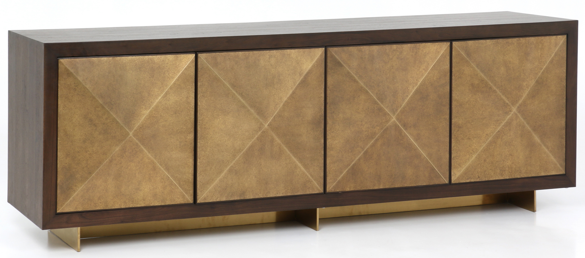 Cabinets, Consoles & Sofa Tables | Htgt Furniture Inside Gunmetal Perforated Brass Media Console Tables (View 2 of 20)