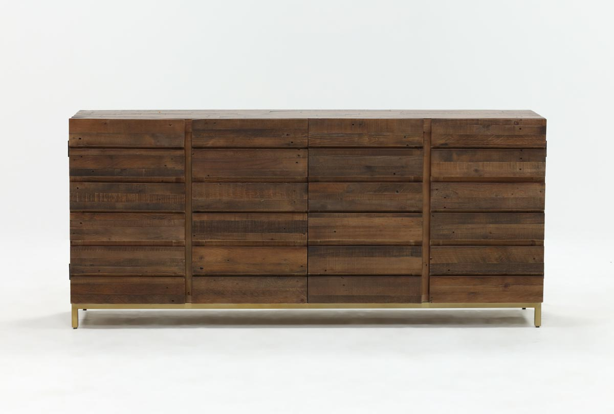 Calhoun Sideboard | Living Spaces Inside Mikelson Media Console Tables (View 6 of 20)