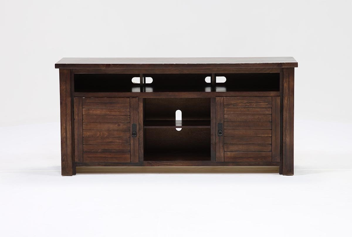 Canyon 64 Inch Tv Stand | Living Spaces Within Ducar 64 Inch Tv Stands (View 3 of 20)