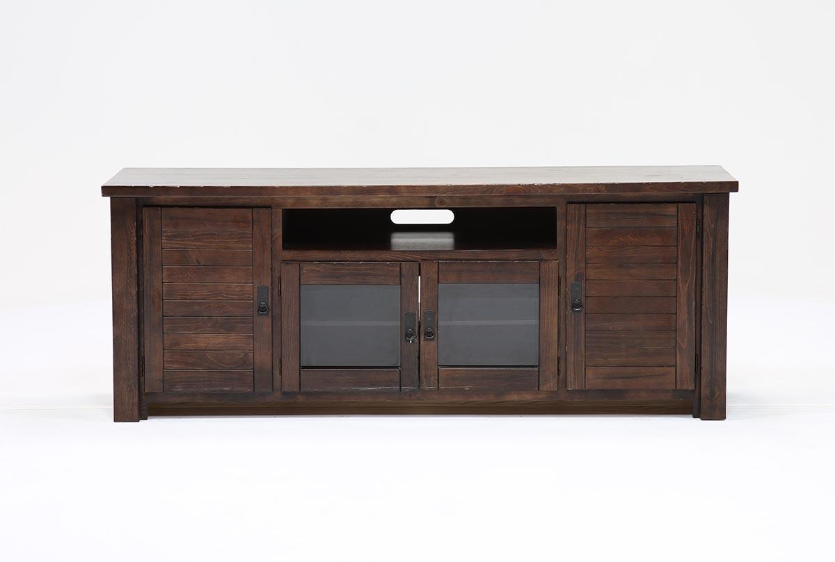 Canyon 74 Inch Tv Stand | Living Spaces For Canyon 74 Inch Tv Stands (View 2 of 20)