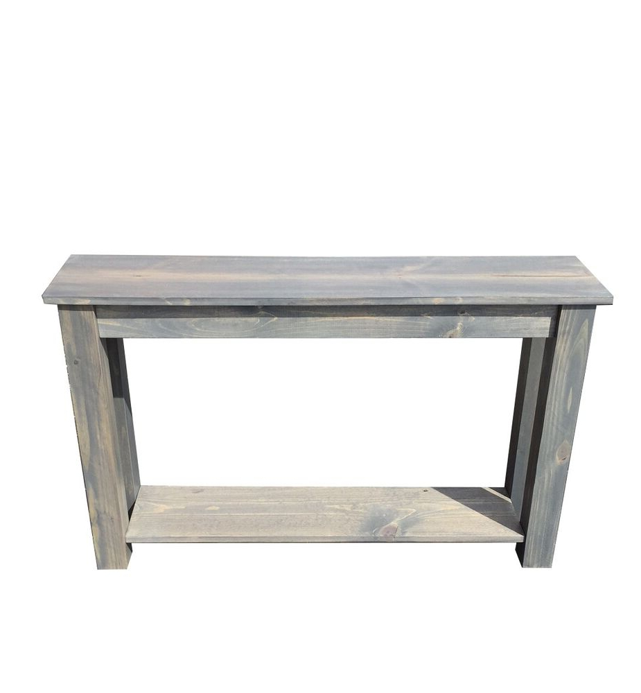 Cape Cod Sofa Table (Entry Table, End Table, Foyer Table) | Ebay Throughout Yukon Grey Console Tables (View 5 of 20)