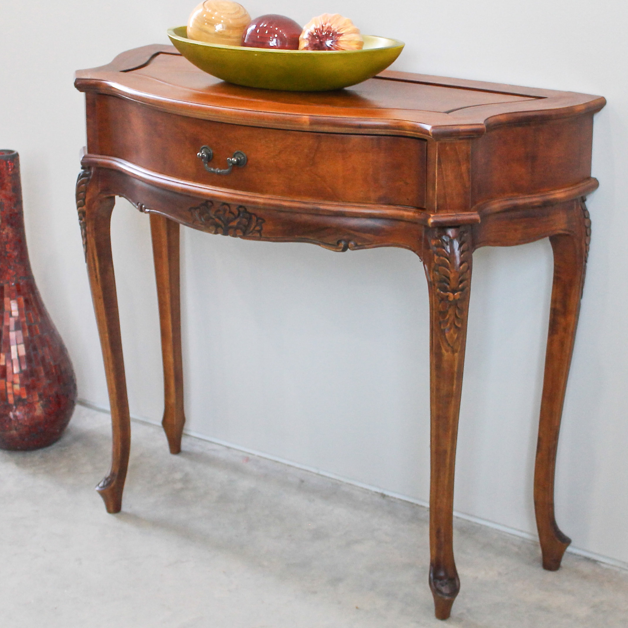 Carved Indian Furniture | Wayfair.ca In Balboa Carved Console Tables (Gallery 18 of 20)