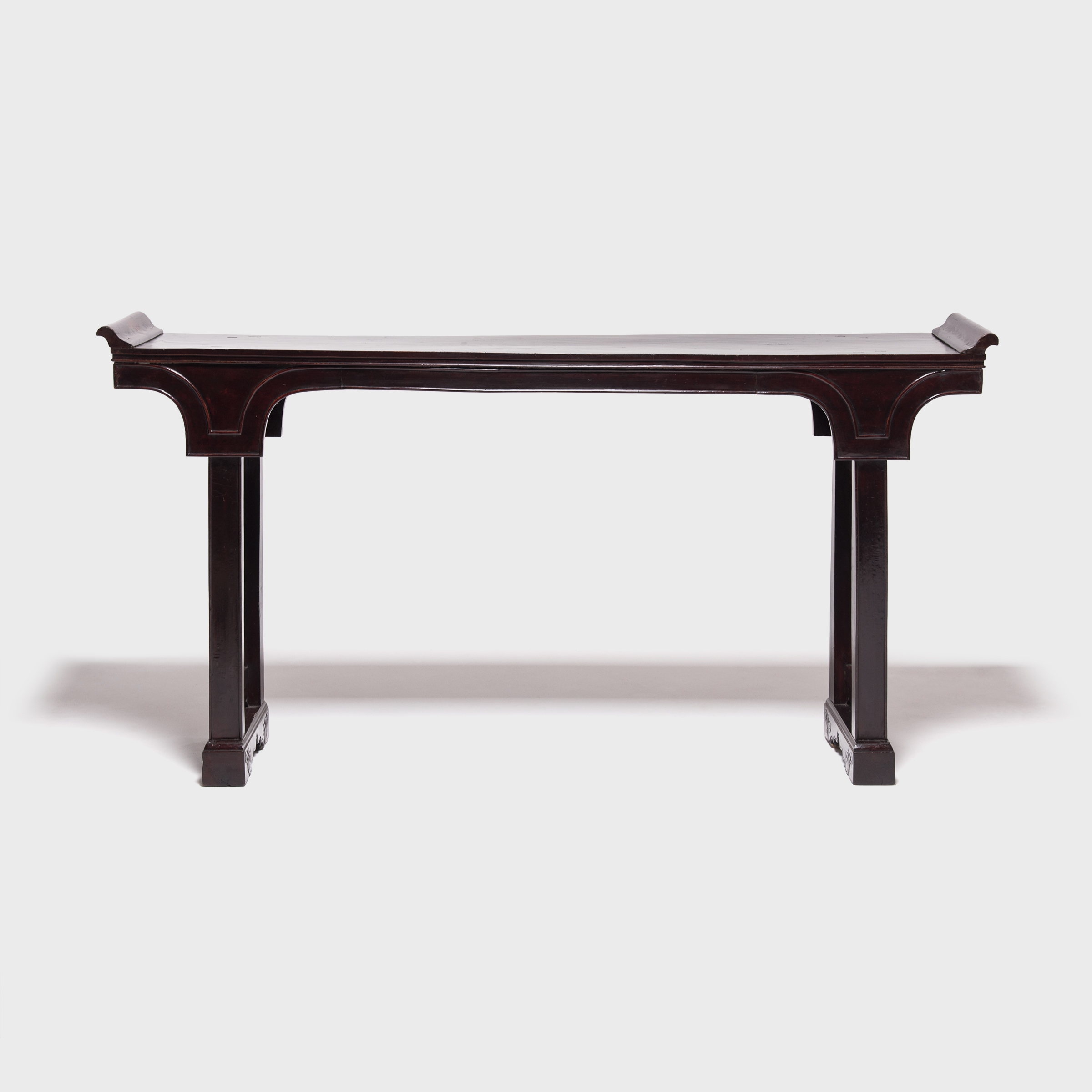 Chinese Tables And Antique Chinese Tables | Pagoda Red For Era Limestone Console Tables (View 4 of 20)