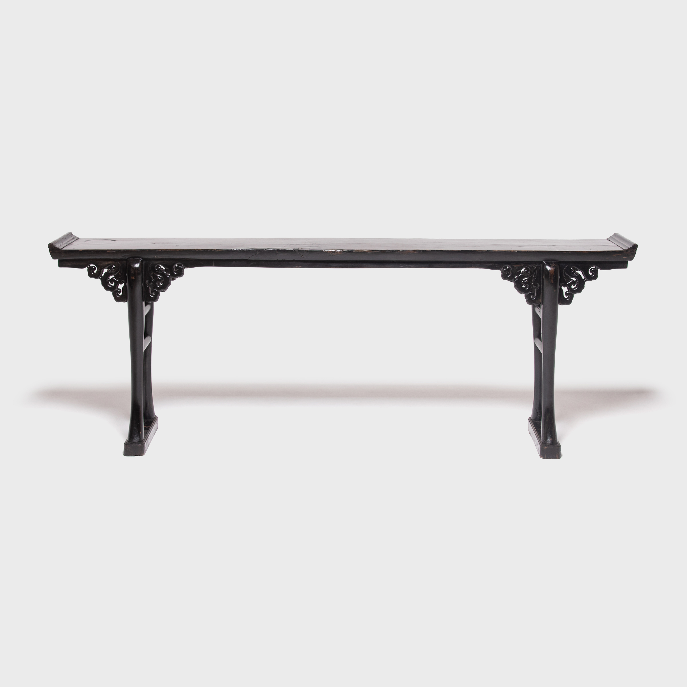 Chinese Tables And Antique Chinese Tables | Pagoda Red For Era Limestone Console Tables (View 3 of 20)