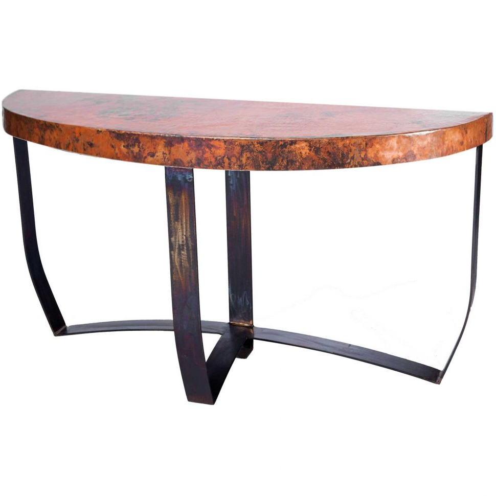 Coffee Table Bar Oval – Dayoftheyear Regarding Clairemont Demilune Console Tables (View 4 of 20)