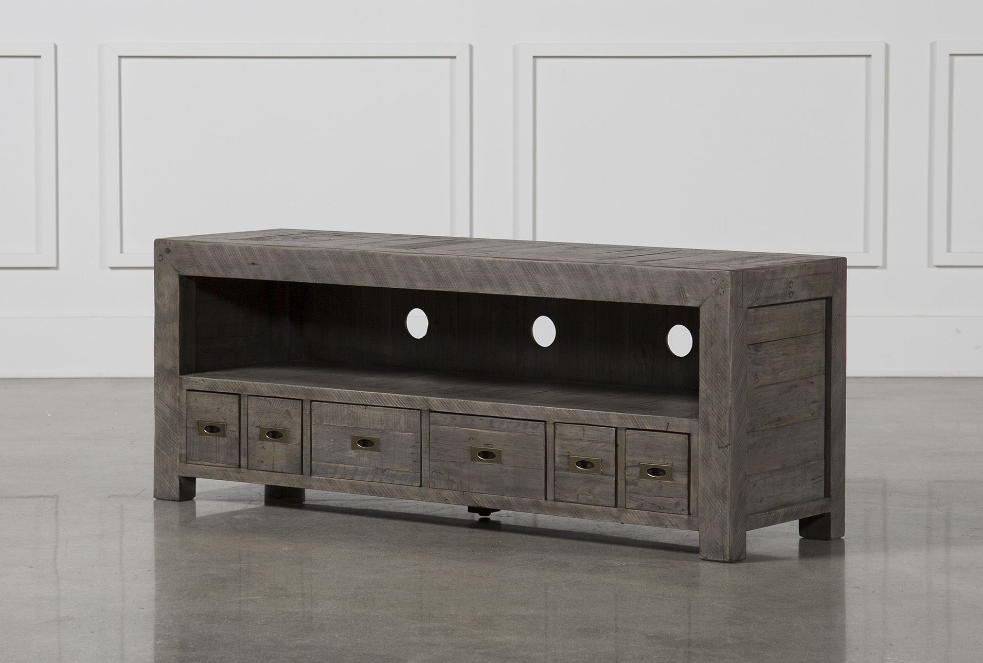 Combs 63 Inch Tv Console | Decor | Pinterest | Entertainment Center Inside Sinclair White 74 Inch Tv Stands (View 3 of 20)