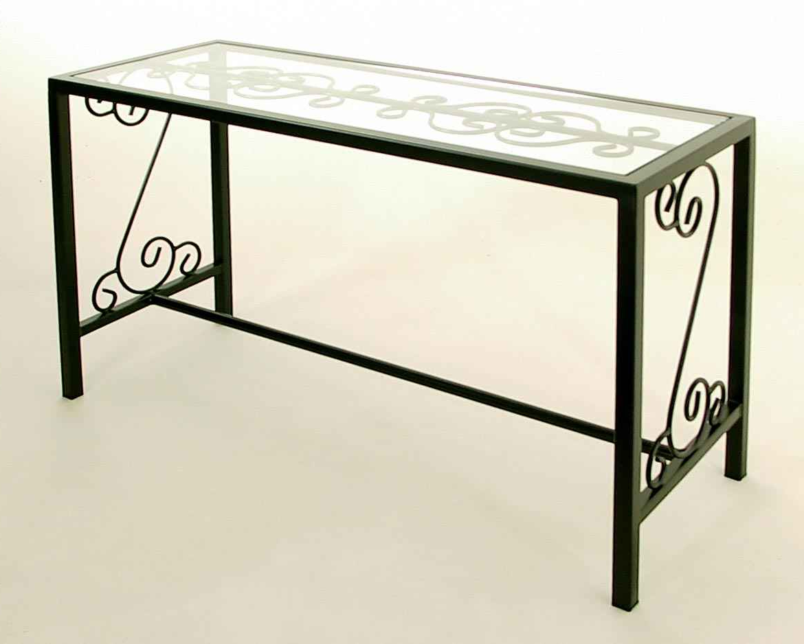 Console And Sofa Tables In Roman Metal Top Console Tables (Gallery 5 of 20)