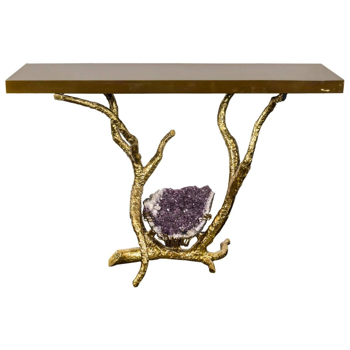 Console Tablejacques Duval Brasseur, 1980S For Sale At Pamono With Regard To Jacque Console Tables (Gallery 19 of 20)