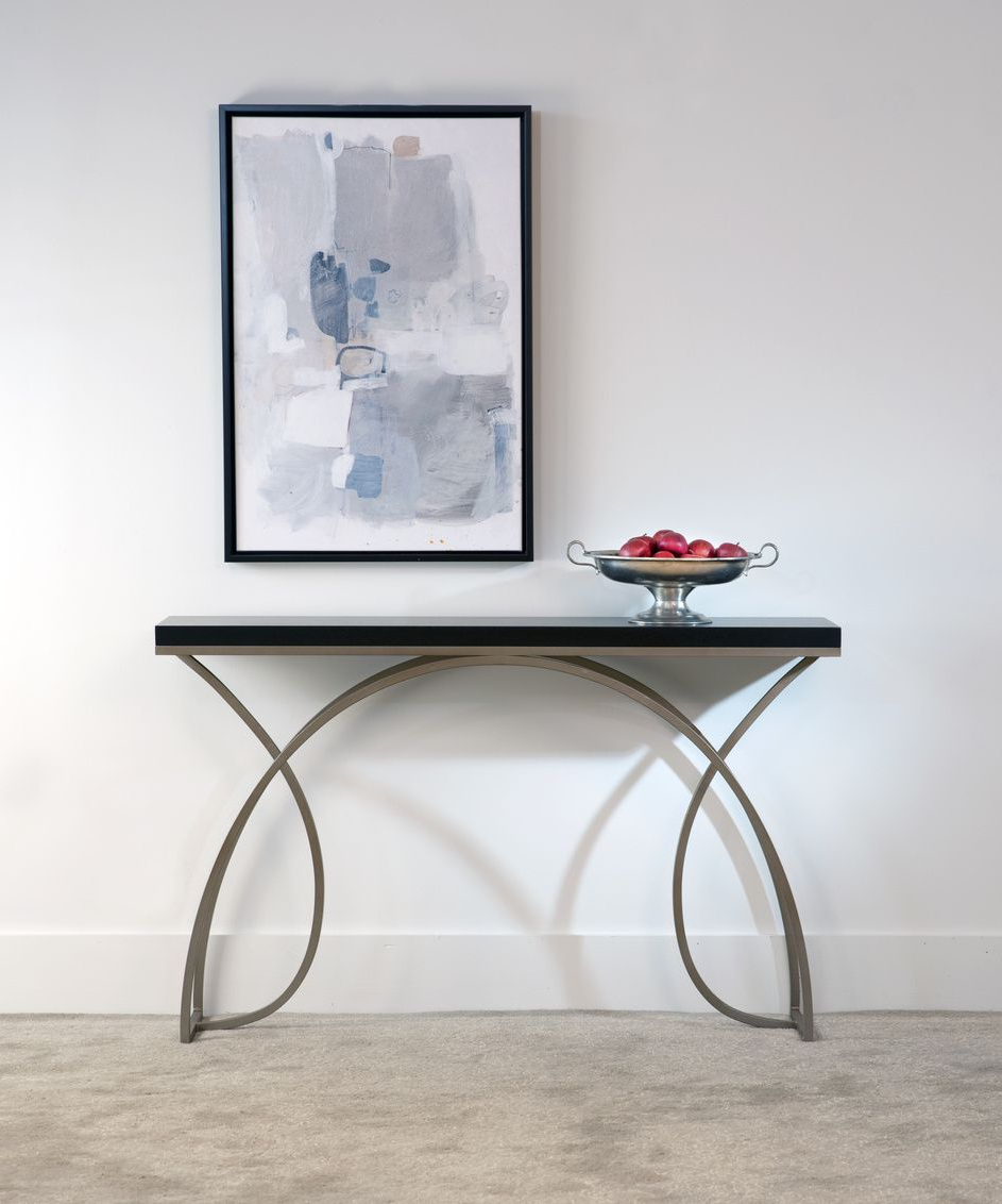 Console Tablescharleston Forge. Made In Usa. Quality Furniture With Raven Grey Tv Stands (Gallery 6 of 20)