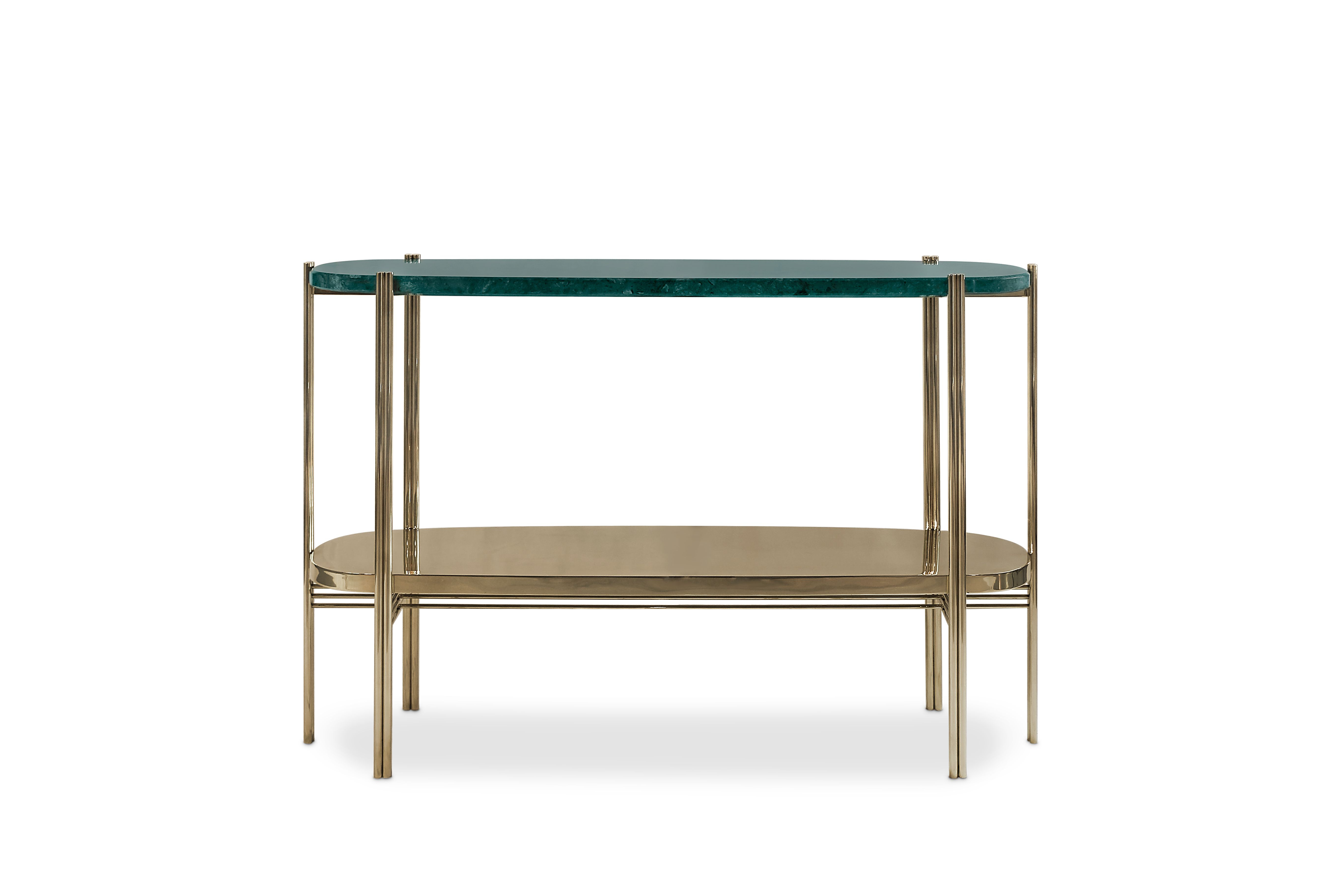 Craig Console Is A Midcentury Modern Piece At Maison Et Objet Paris Intended For Elke Marble Console Tables With Brass Base (View 3 of 20)