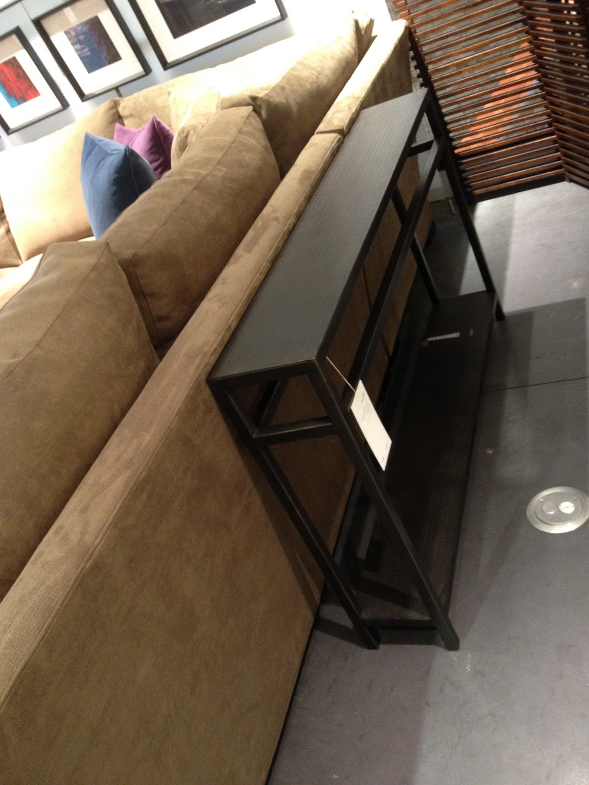 Crate & Barrel, Say What? In Echelon Console Tables (View 6 of 20)