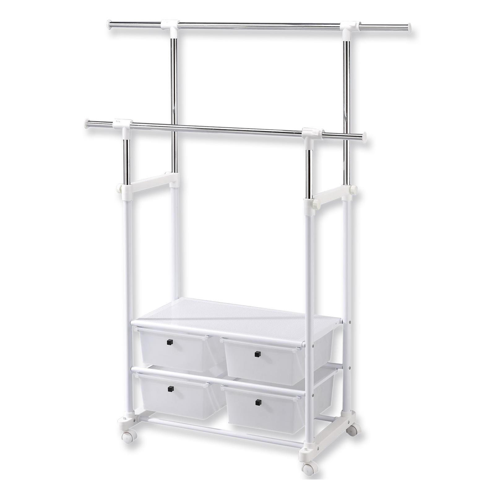 Cream Clothes Rail | Wayfair.co (View 5 of 20)
