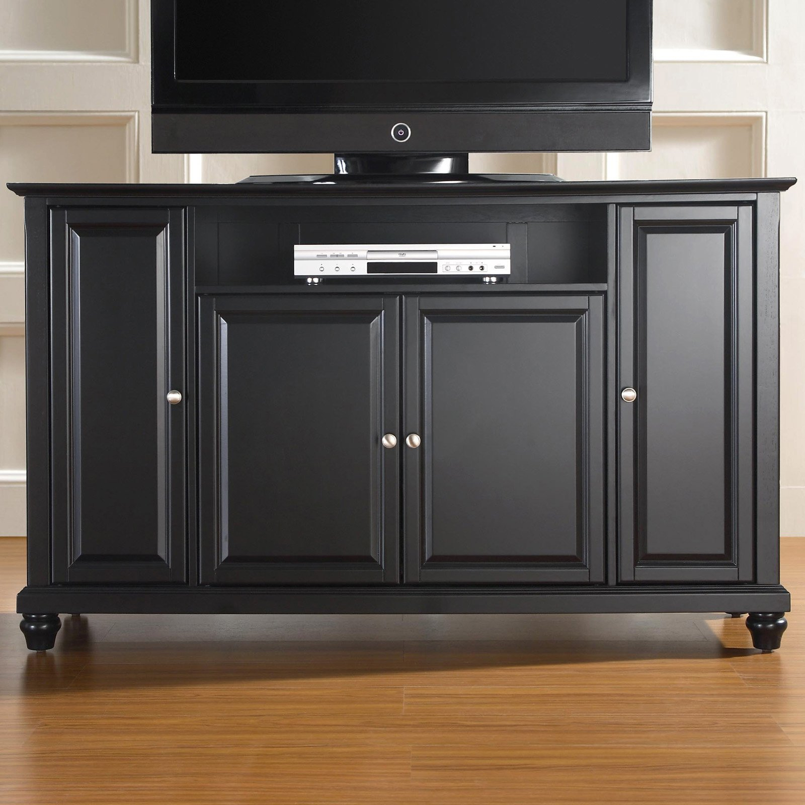 """Crosley Furniture Cambridge Tv Stand For Tvs Up To 60"""" – Walmart Pertaining To Edwin Black 64 Inch Tv Stands (View 10 of 20)"""