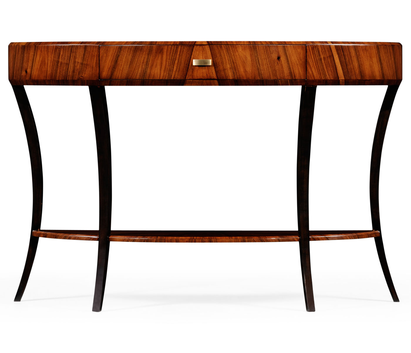 Demilune Console Table Within Clairemont Reviews Crate And Barrel For Clairemont Demilune Console Tables (View 3 of 20)