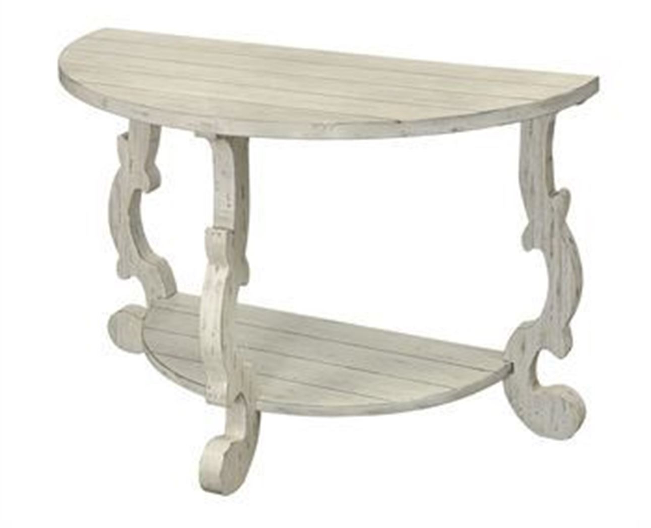 Demilune Console Table Within Clairemont Reviews Crate And Barrel Inside Clairemont Demilune Console Tables (View 9 of 20)