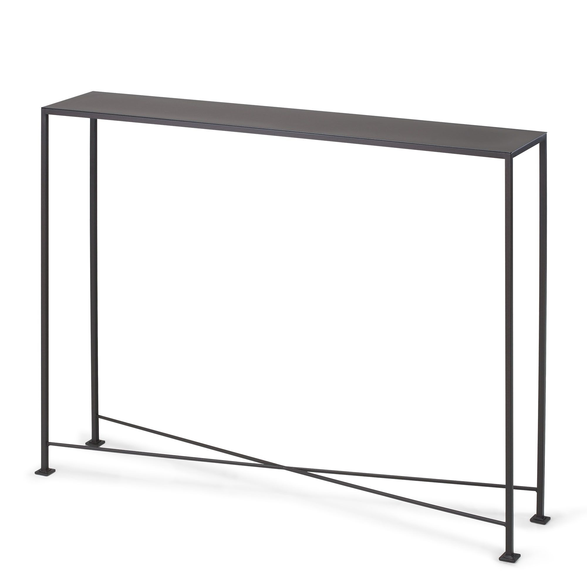 Diversey Metal Console Table   Console Tables, Consoles And Metals Regarding Silviano 60 Inch Iron Console Tables (View 10 of 20)