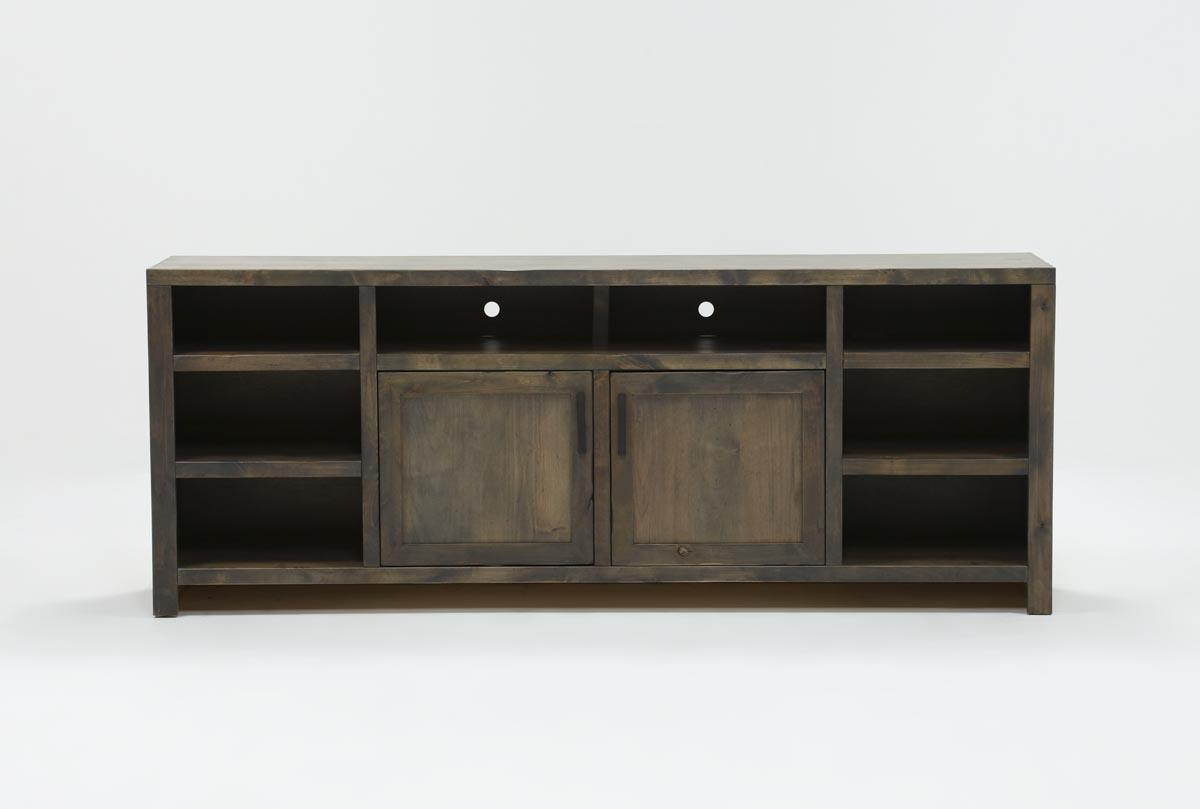 Ducar 84 Inch Tv Stand | Living Spaces Inside Oxford 84 Inch Tv Stands (View 5 of 20)