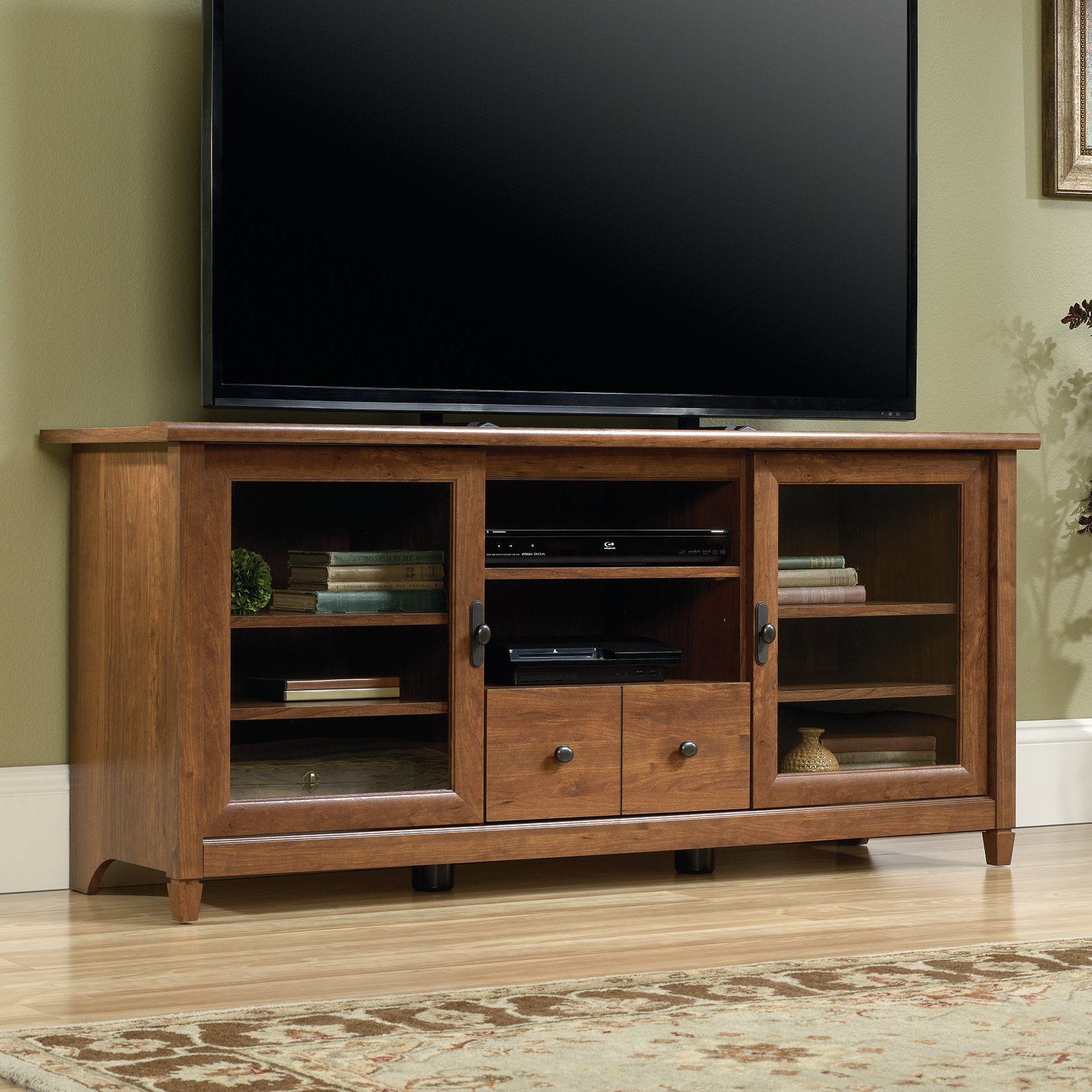 End Table And Tv Stand Set | Wayfair Intended For Combs 63 Inch Tv Stands (View 6 of 20)
