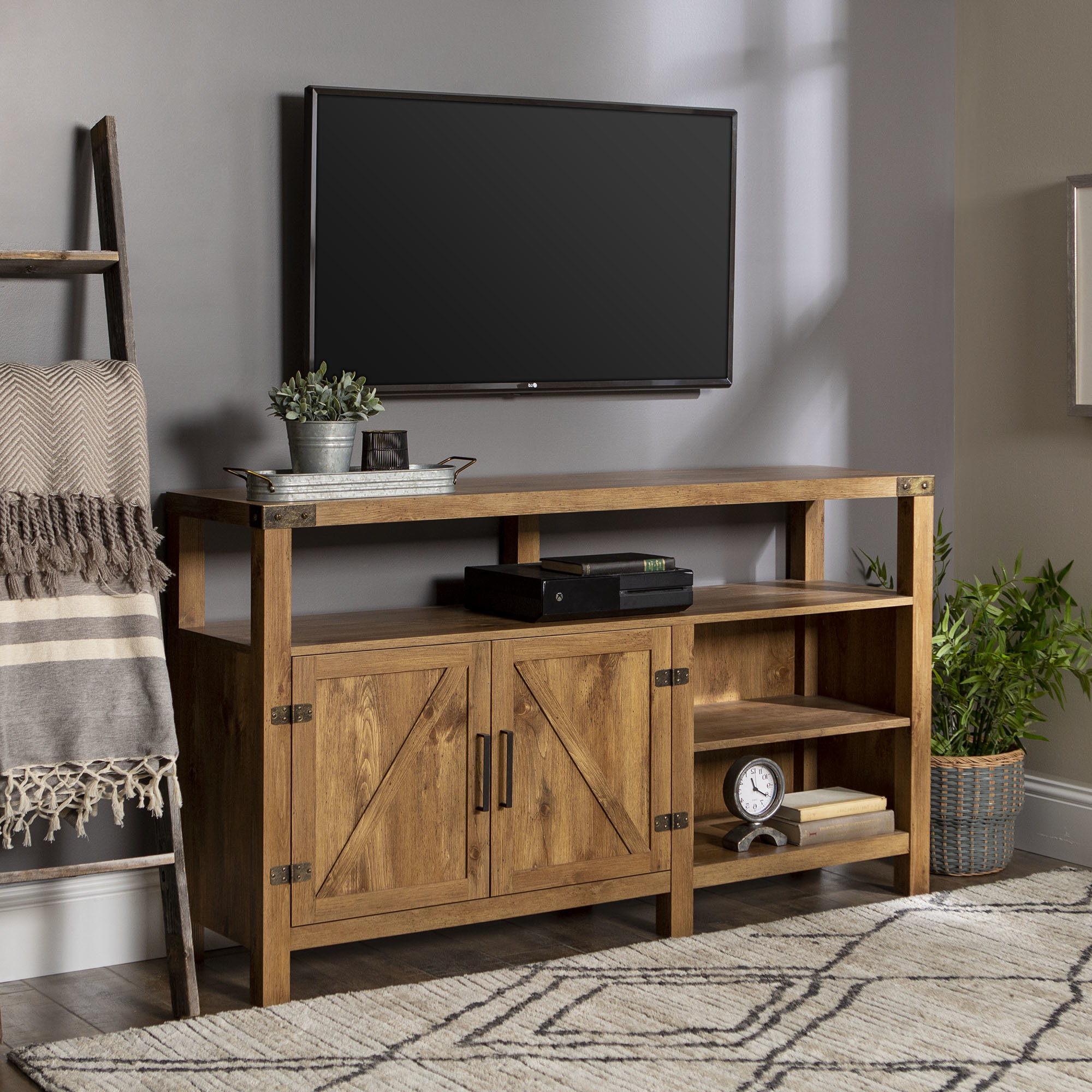 End Table And Tv Stand Set | Wayfair Regarding Combs 63 Inch Tv Stands (View 12 of 20)