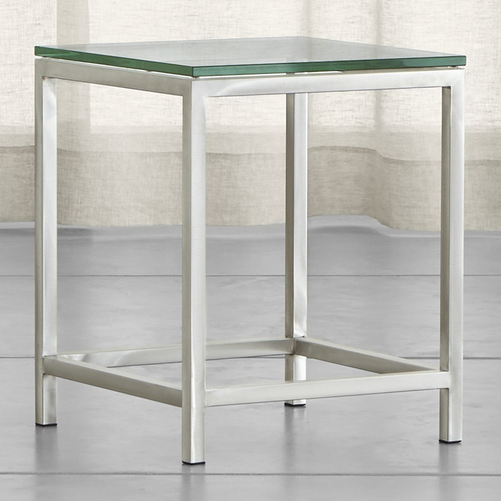 Era Glass Side Table | Products | Pinterest | Table, Glass Side Pertaining To Era Limestone Console Tables (View 8 of 20)
