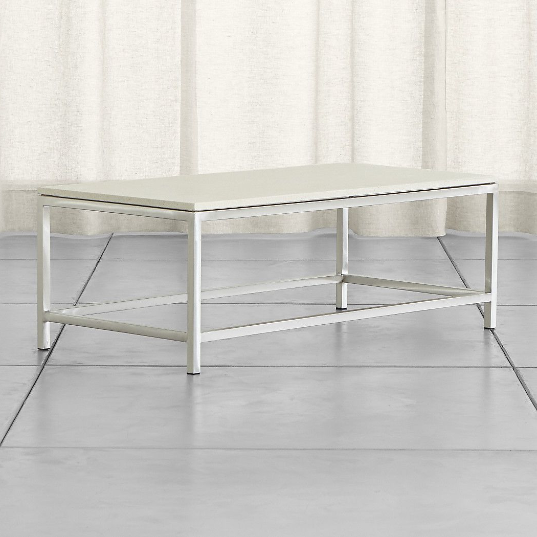 Era Limestone Rectangular Coffee Table | Ideas For New House Intended For Era Limestone Console Tables (View 9 of 20)