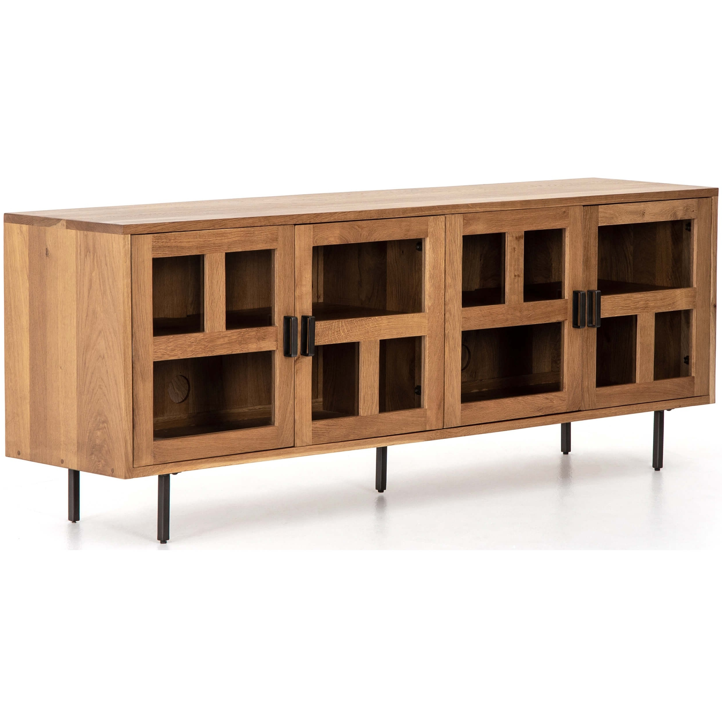 Ettore Media Console – Media – Storage – Furniture With Regard To Gunmetal Media Console Tables (View 11 of 20)