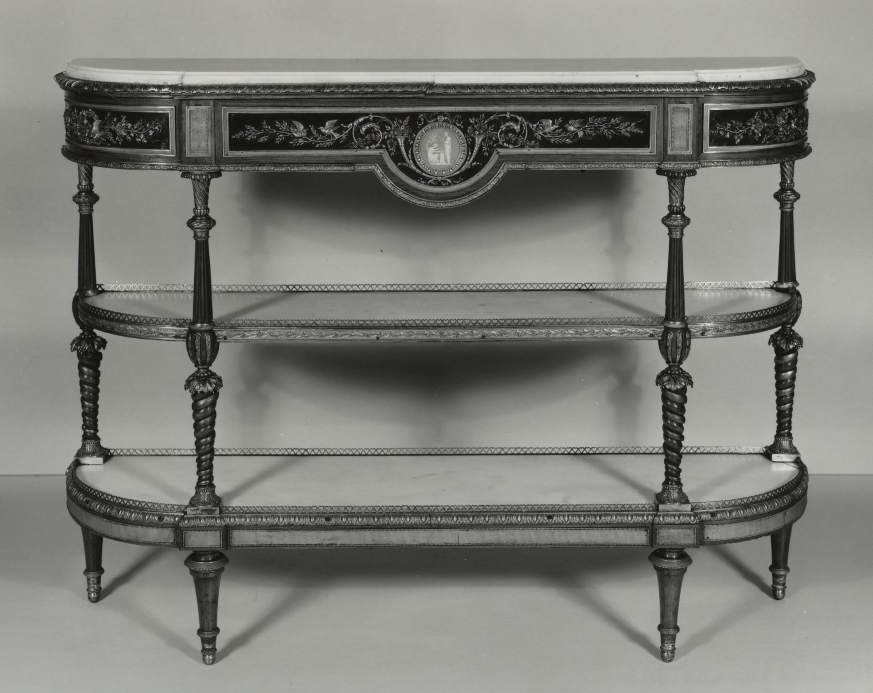 File:josiah Wedgwood – Console – Walters 6518 – Wikimedia Commons Regarding Walters Media Console Tables (View 4 of 20)
