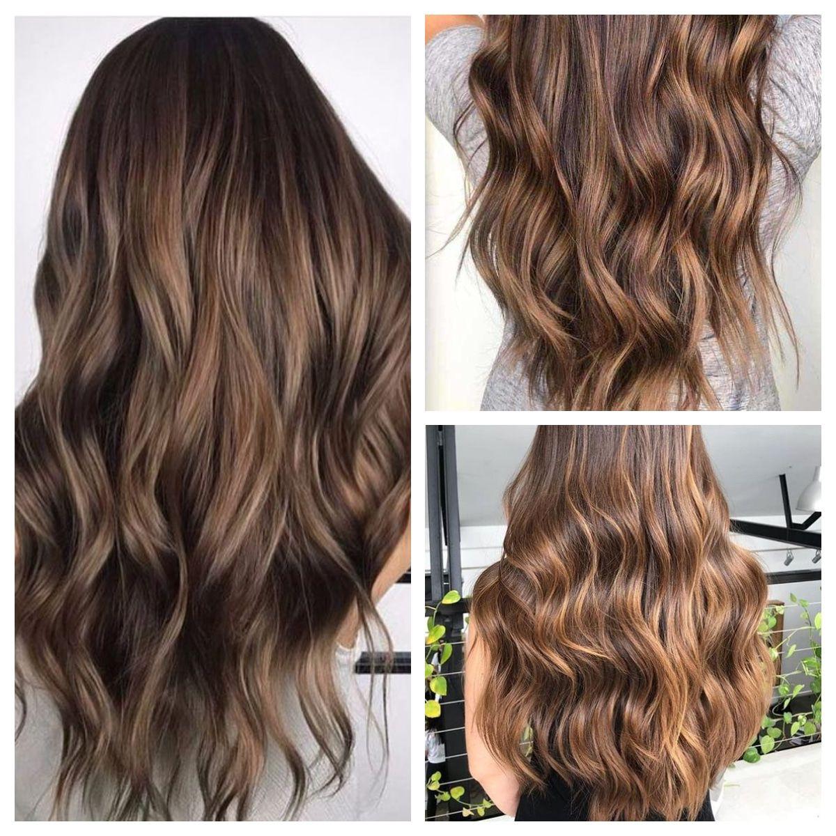 Fındık Kabuğu Saç Rengi Ve Modelleri – Boya Numarası & Bakımı #hair With Regard To Maddy 70 Inch Tv Stands (View 4 of 20)
