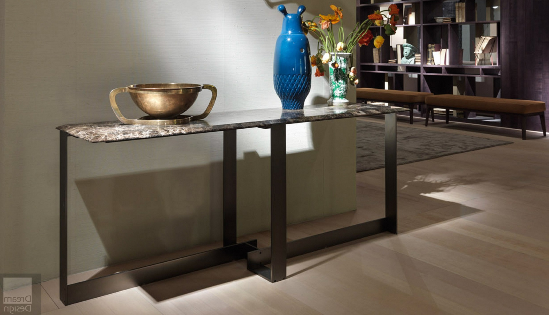 Flexform Mood Jacques Console Table – Everything But Ordinary Within Jacque Console Tables (View 9 of 20)