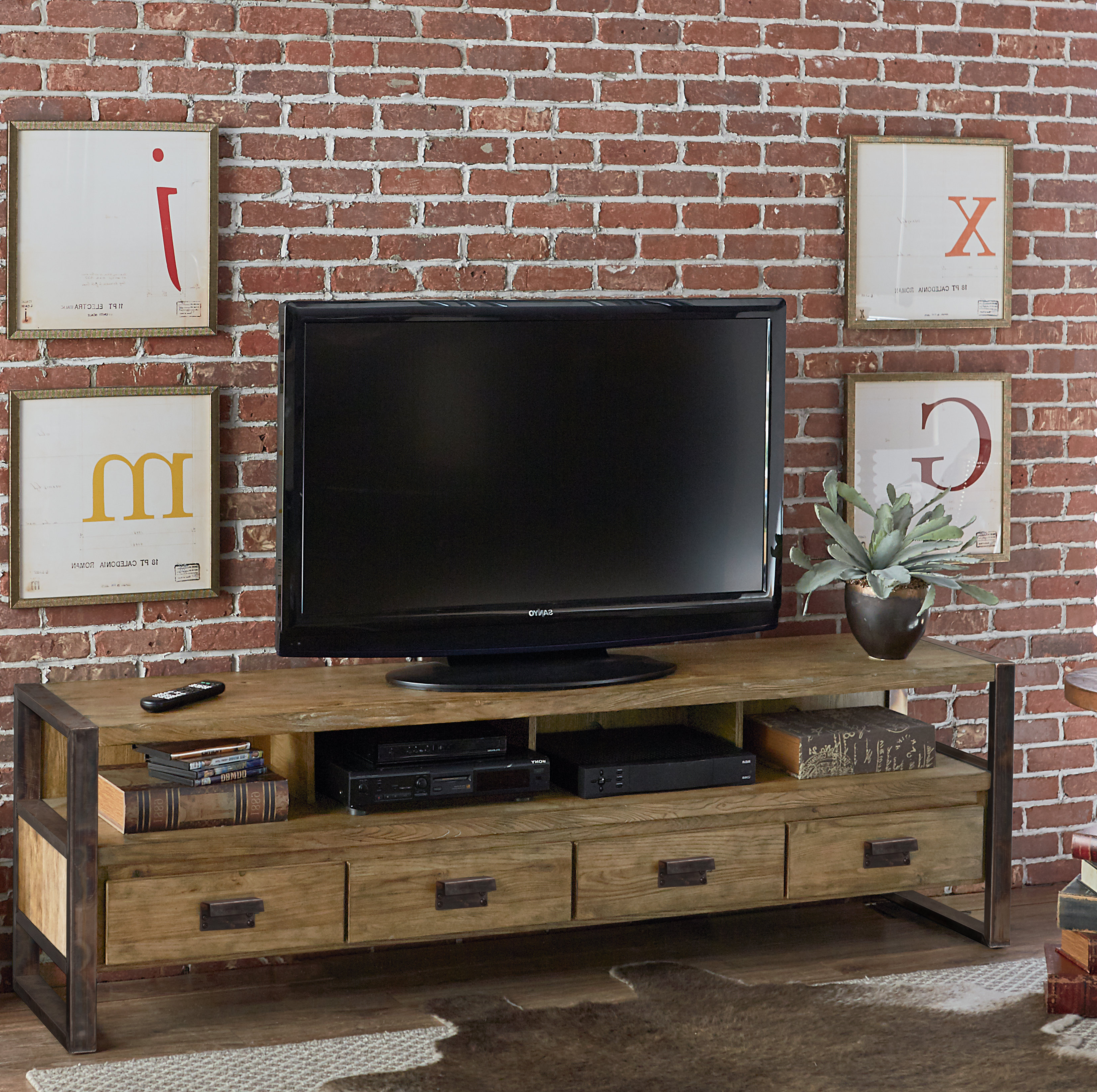 "Foundry Select Cecily Tv Stand For Tvs Up To 85"" & Reviews 