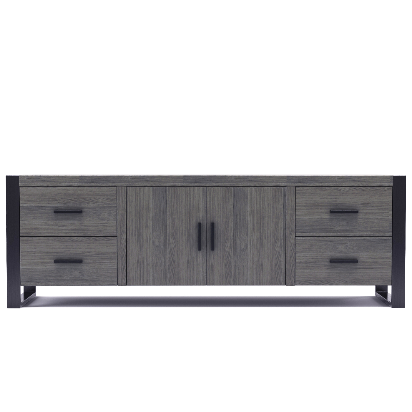 Furniture: Dexter 70 Inch Tv Stand In Ash Grey And Black For Annabelle Black 70 Inch Tv Stands (View 15 of 20)