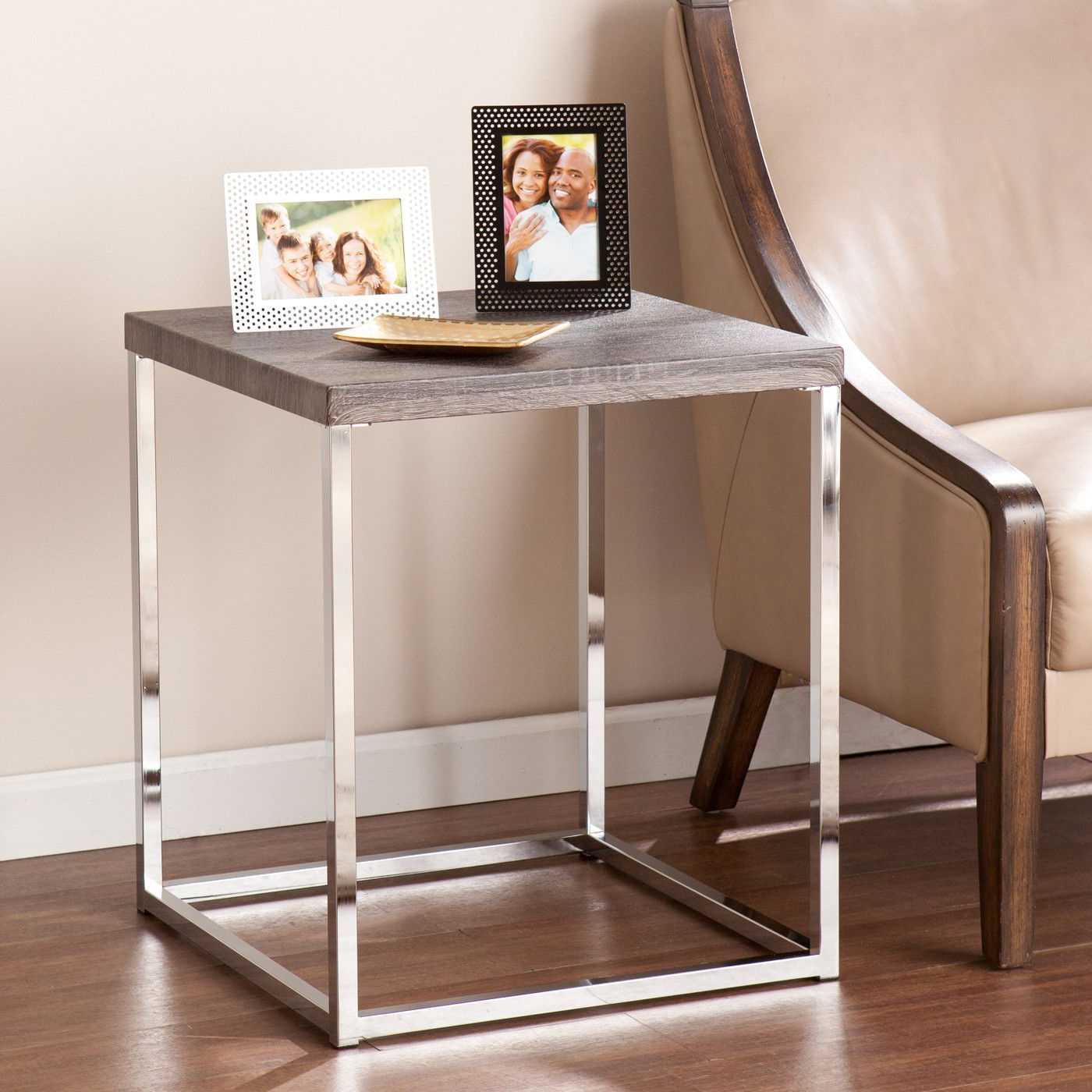 Gellar End Table | Products | Pinterest | Products Throughout Era Limestone Console Tables (View 10 of 20)