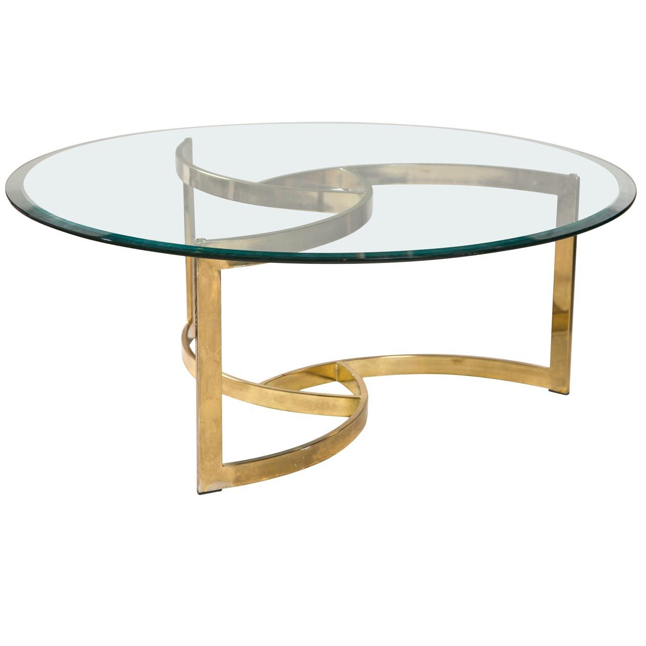 Glass Coffee Table Gold Legs | Coffee Tables | Table, Coffee Table In Elke Glass Console Tables With Brass Base (View 4 of 20)
