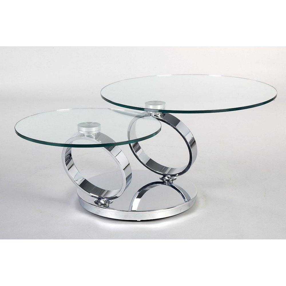 Glass Top Accent Table Metal Base – Glass Decorating Ideas Regarding Parsons Clear Glass Top & Stainless Steel Base 48x16 Console Tables (View 18 of 20)