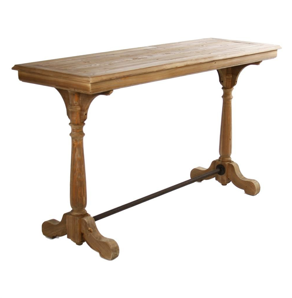 Gomez Scroll Foot Oak Sofa Console Table | Console Table | Pinterest Regarding Balboa Carved Console Tables (View 11 of 20)