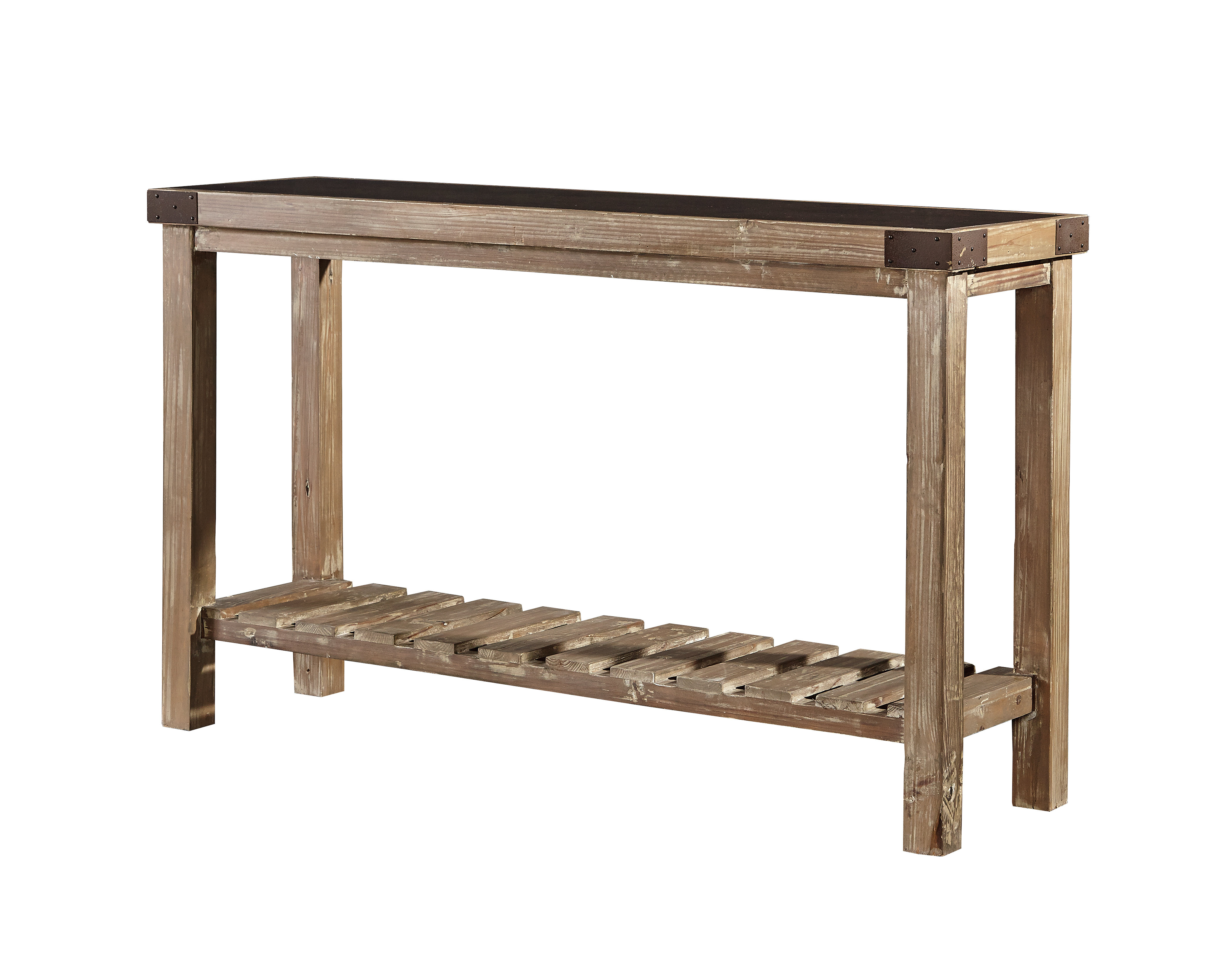 Gracie Oaks Warkworth Bluestone Top Console Table | Wayfair Intended For Bluestone Console Tables (View 4 of 20)