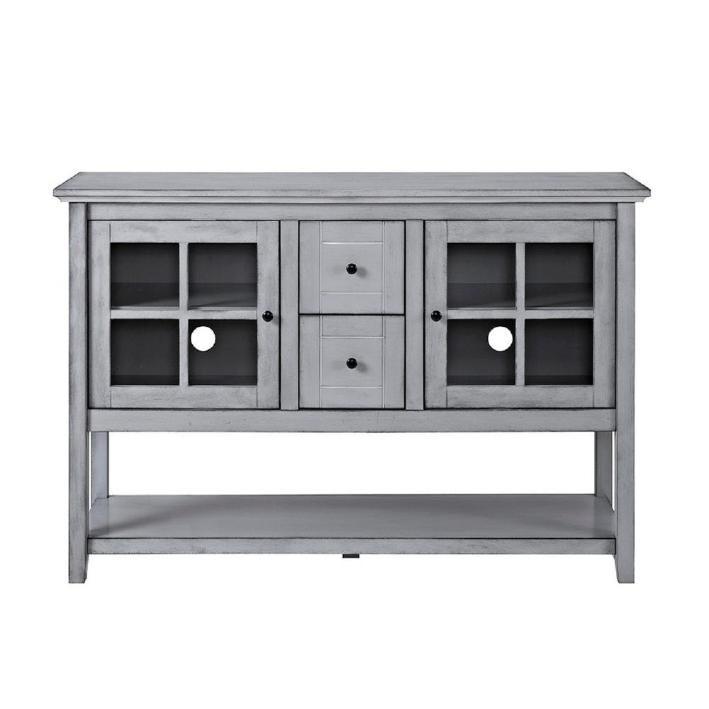 Gray – Sideboards & Buffets – Kitchen & Dining Room Furniture – The With Raven Grey Tv Stands (Gallery 3 of 20)