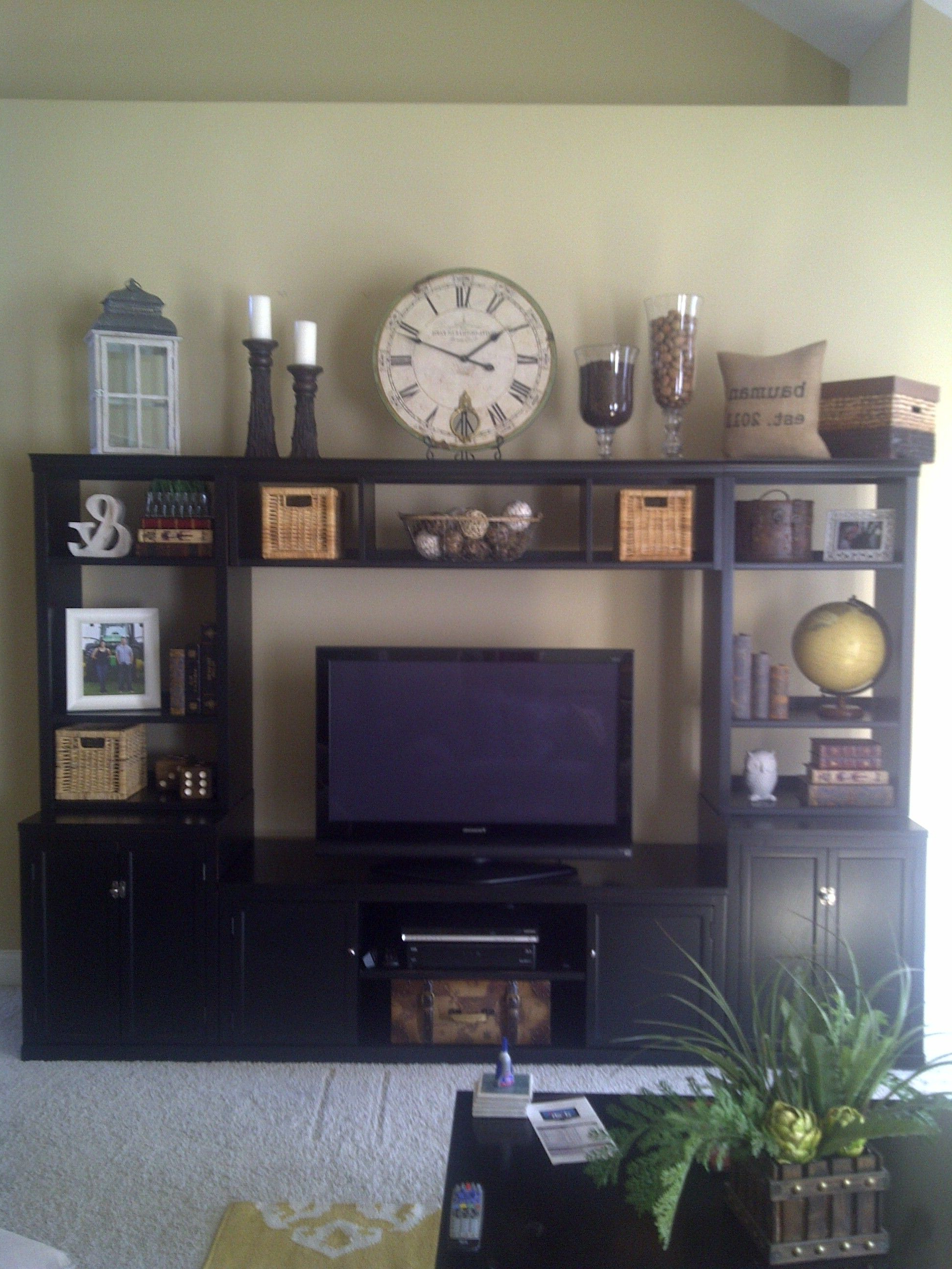 Great Idea For Items To Fill Our Entertainment Center (View 11 of 20)