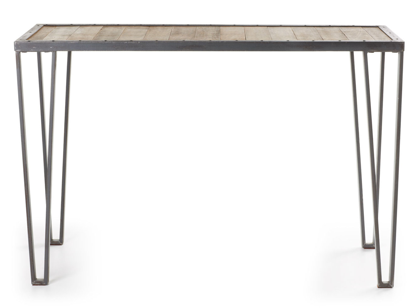 Grey Painted Console Table | Wayfair.co.uk In Mix Agate Metal Frame Console Tables (Gallery 5 of 20)
