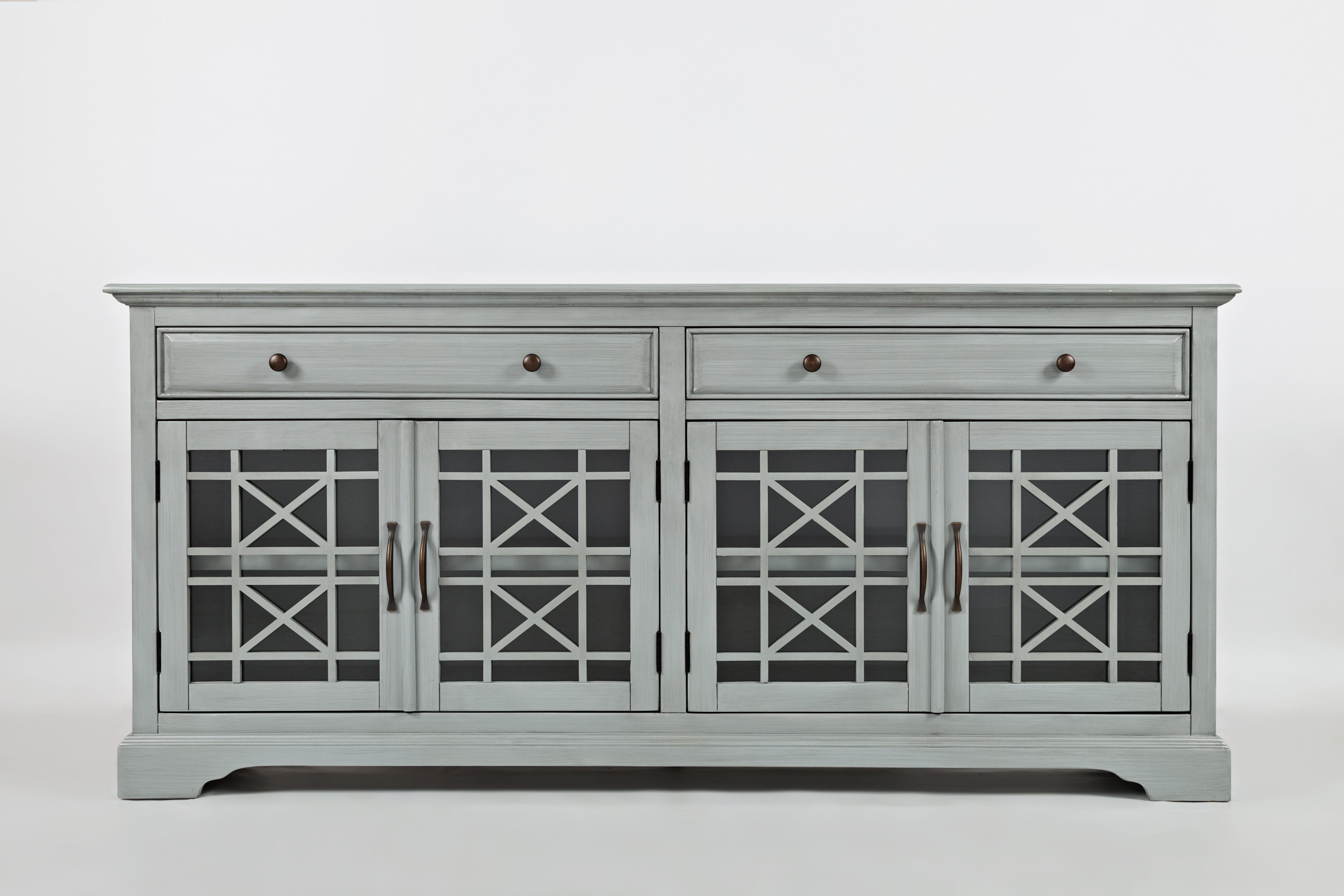 Grey Tv Stands | Birch Lane Regarding Sinclair Grey 68 Inch Tv Stands (View 12 of 20)