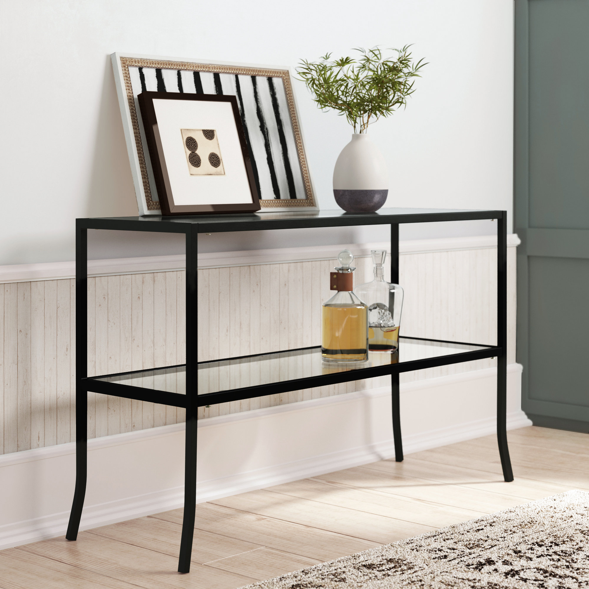 Hall Consul Table | Wayfair.co (View 10 of 20)
