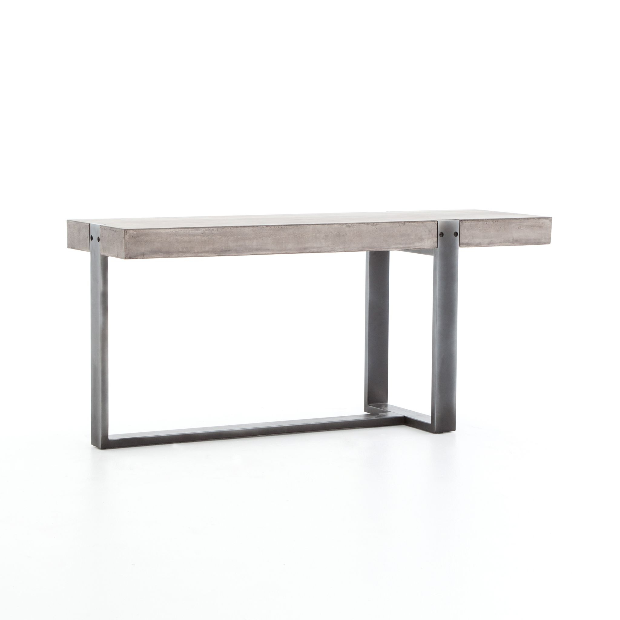 Hebron Console | Ideas For The House | Pinterest | Rustic Modern Within Silviano 60 Inch Iron Console Tables (Gallery 7 of 20)