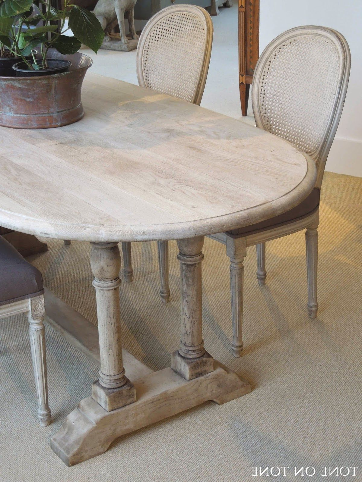 Here Is A 19Th Century Belgian Bleached Oak Dining / Kitchen Table For Chari Media Center Tables (View 5 of 20)