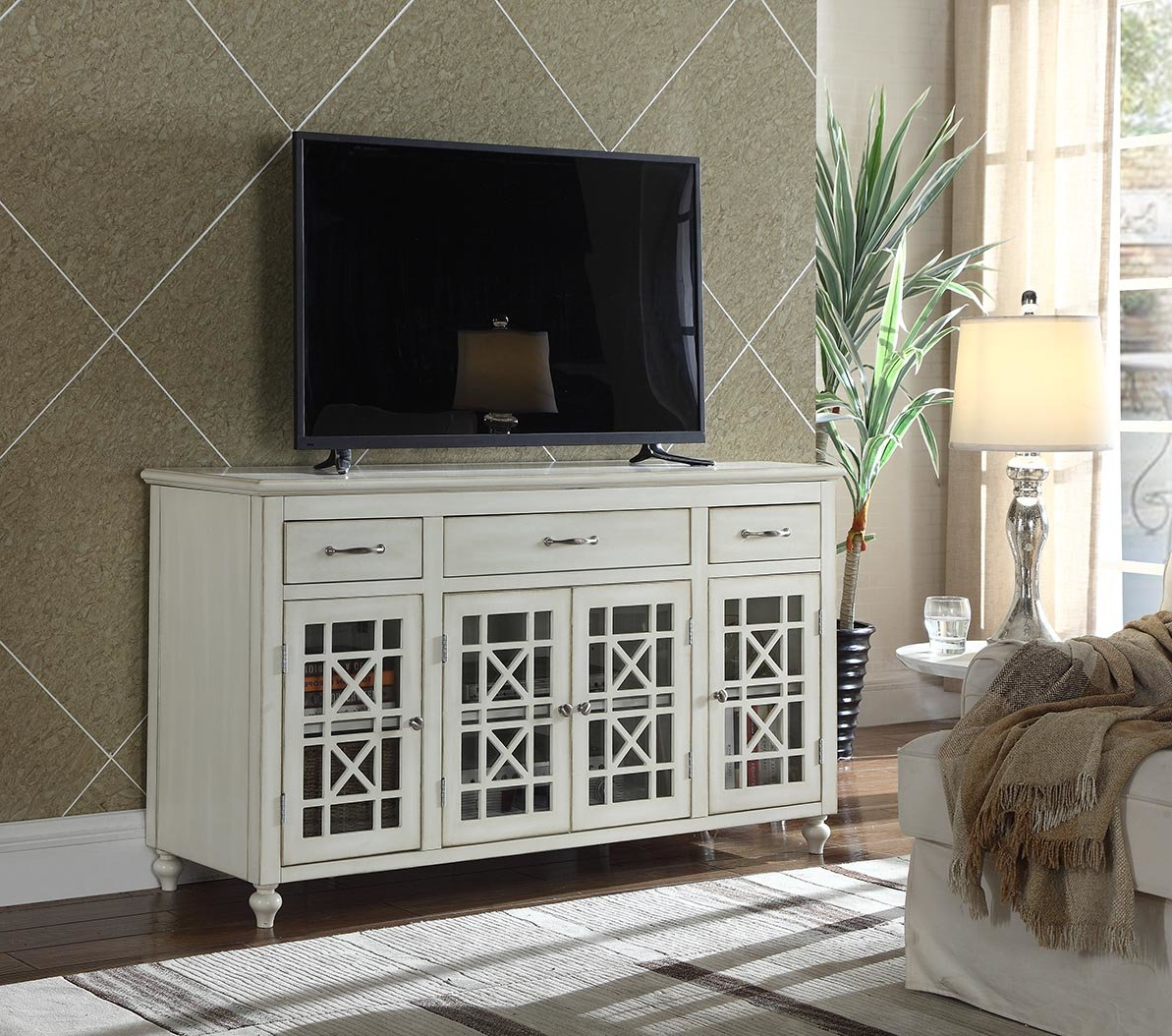 "Highland Dunes Hardin Tv Stand For Tvs Up To 65"" & Reviews 