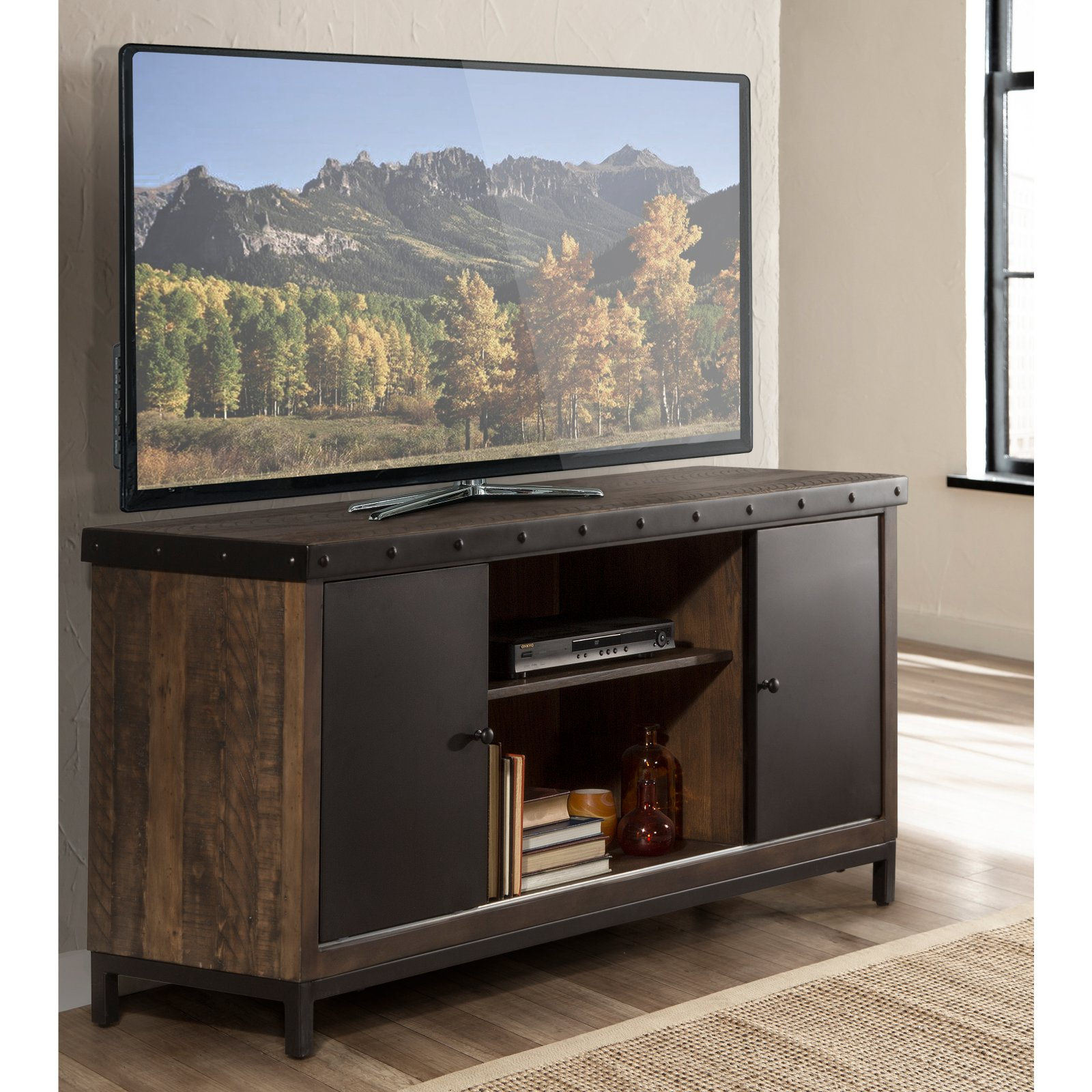 Hillsdale Furniture Jennings 64 In. Entertainment Tv Stand In 2019 With Regard To Maddy 50 Inch Tv Stands (Gallery 2 of 20)