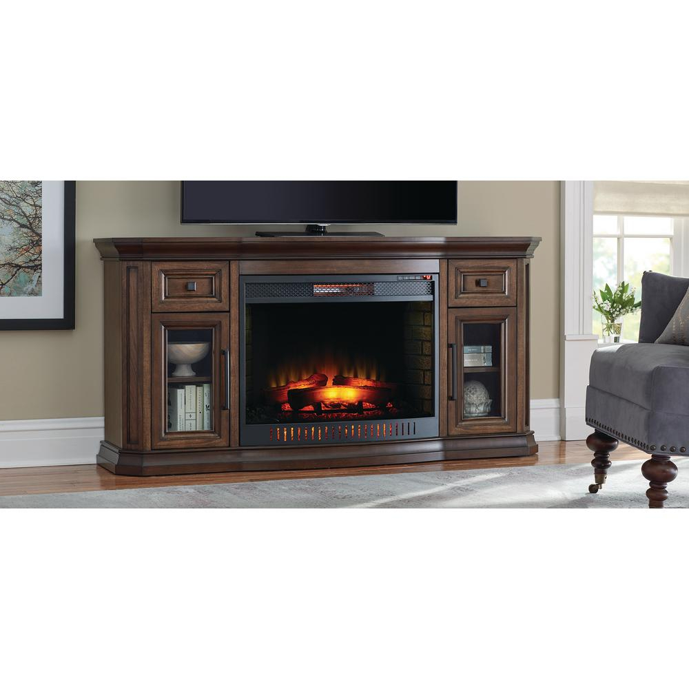 Home Decorators Collection – Fireplace Tv Stands – Electric Throughout Canyon 54 Inch Tv Stands (Gallery 12 of 20)