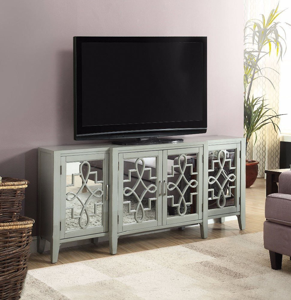 House Of Hampton Chanelle Tv Stand & Reviews | Wayfair Throughout Murphy 72 Inch Tv Stands (View 11 of 20)