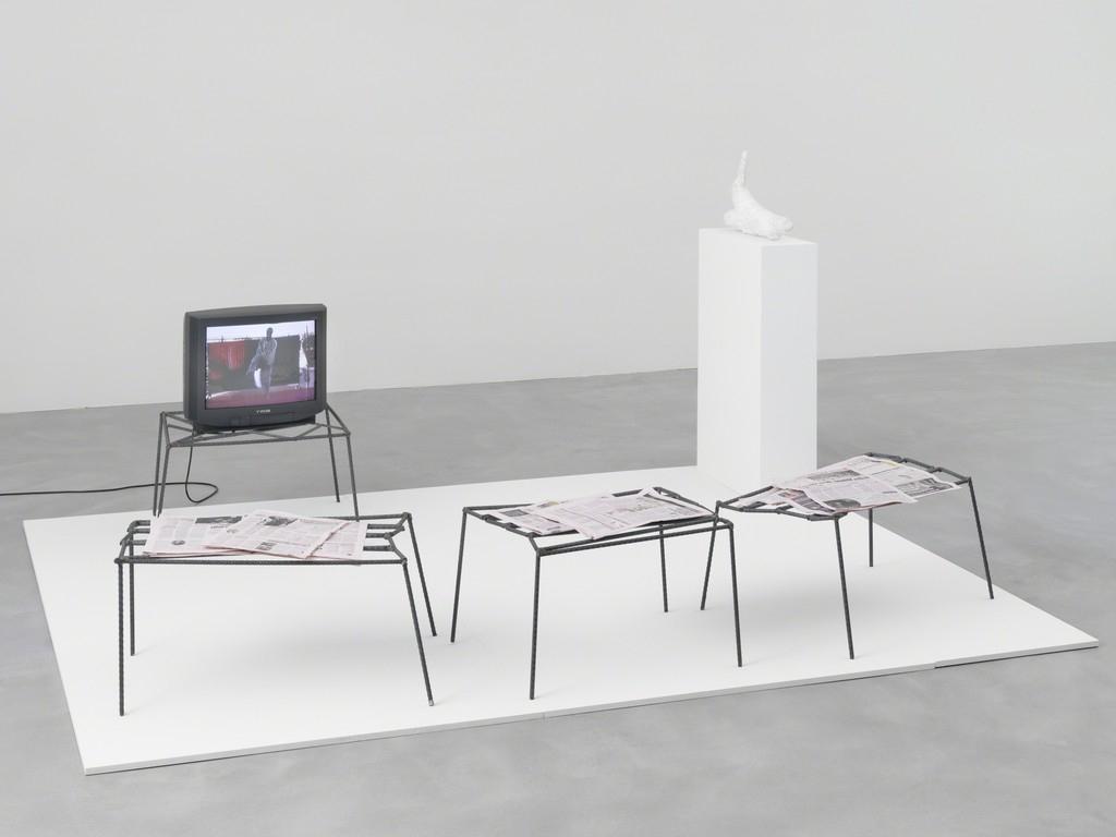 Https://www.artsy/artwork/franz West Untitled Installation Https Intended For Kilian Black 74 Inch Tv Stands (Gallery 7 of 20)