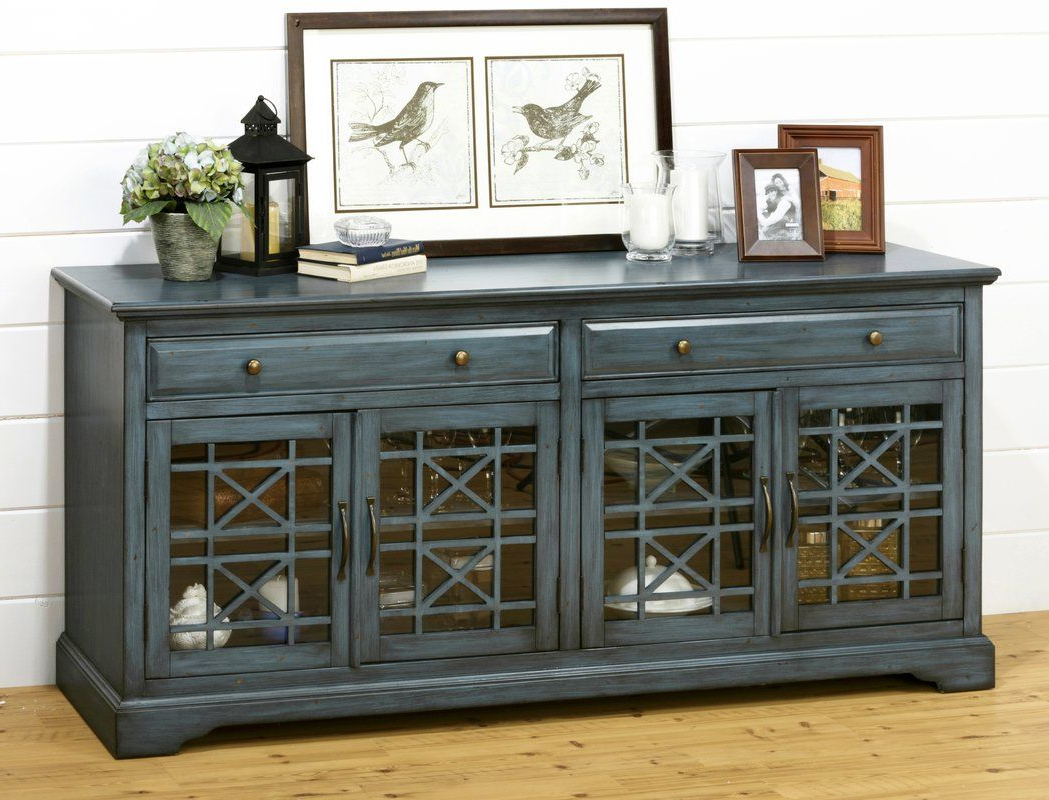"Hubert 70"" Tv Stand With Regard To Annabelle Blue 70 Inch Tv Stands (View 4 of 20)"